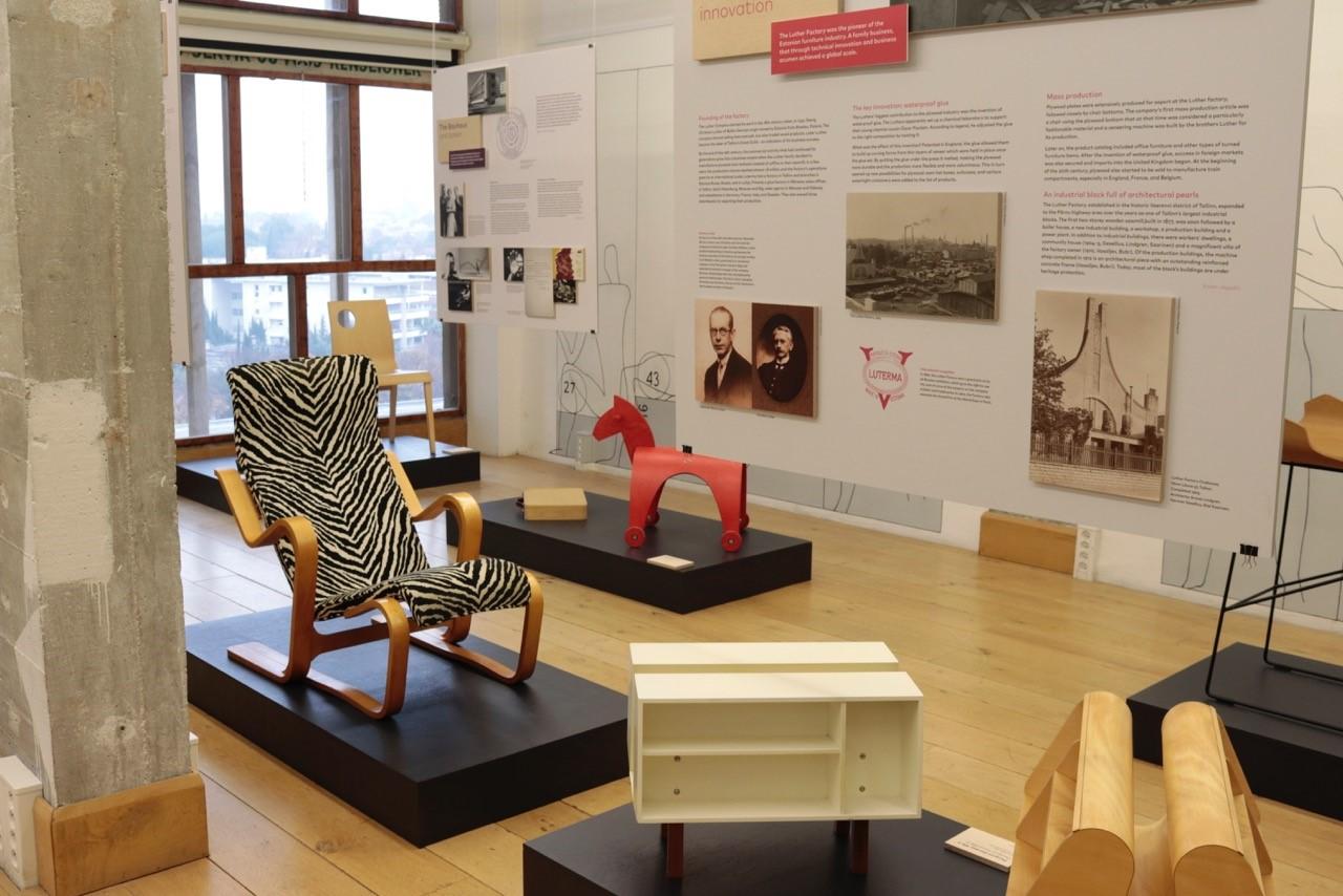 Habitaren uusi näyttely: Luther ja Isokon – arkkitehtuurin ja vanerin uranuurtajat