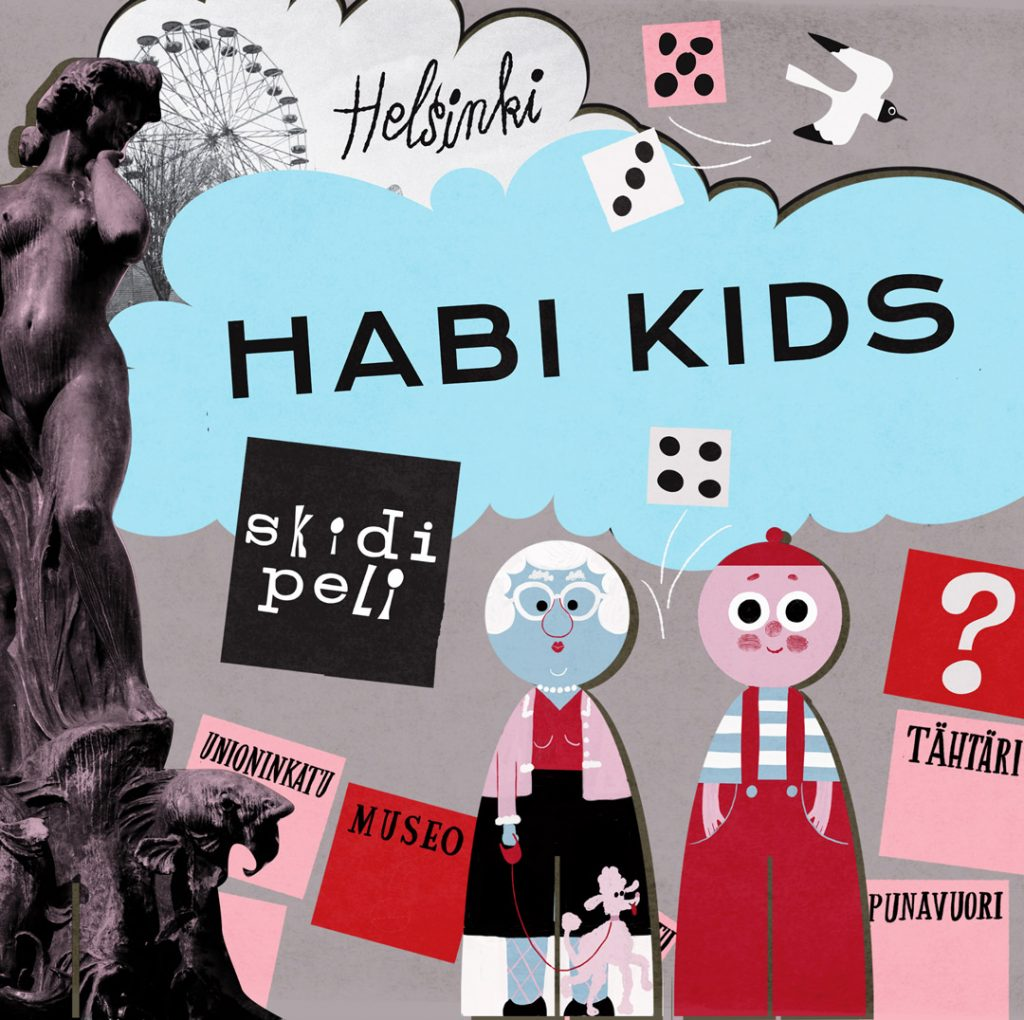 Habi Kidsissä tutustutaan Helsinkiin pelin muodossa