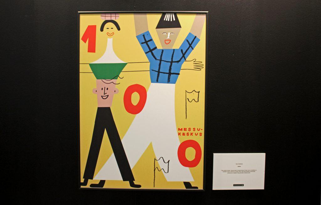 Messukeskuksen ja Grafian yhteisen julistesuunnittelukilpailun voittaja on Ville Savimaa