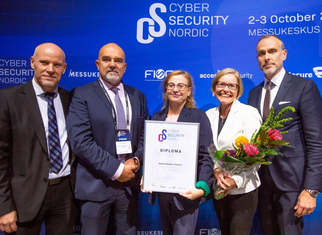 Woman4Cyber wins major cyber security award