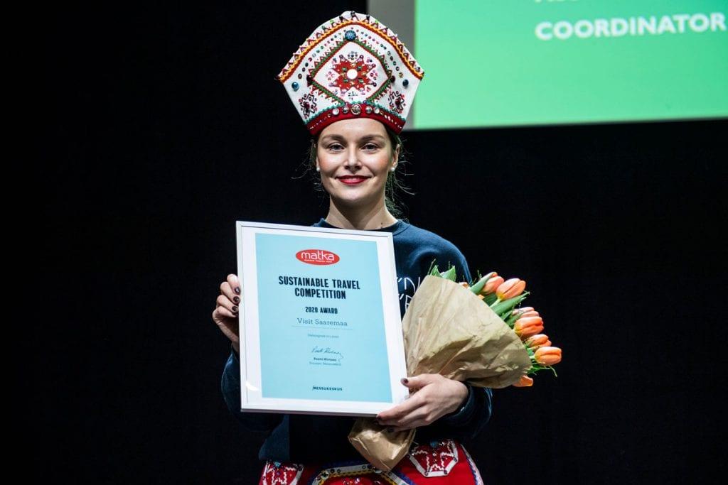 Matkamessujen ensimmäisen vastuullisuuskilpailun voittaja on Visit Saaremaa