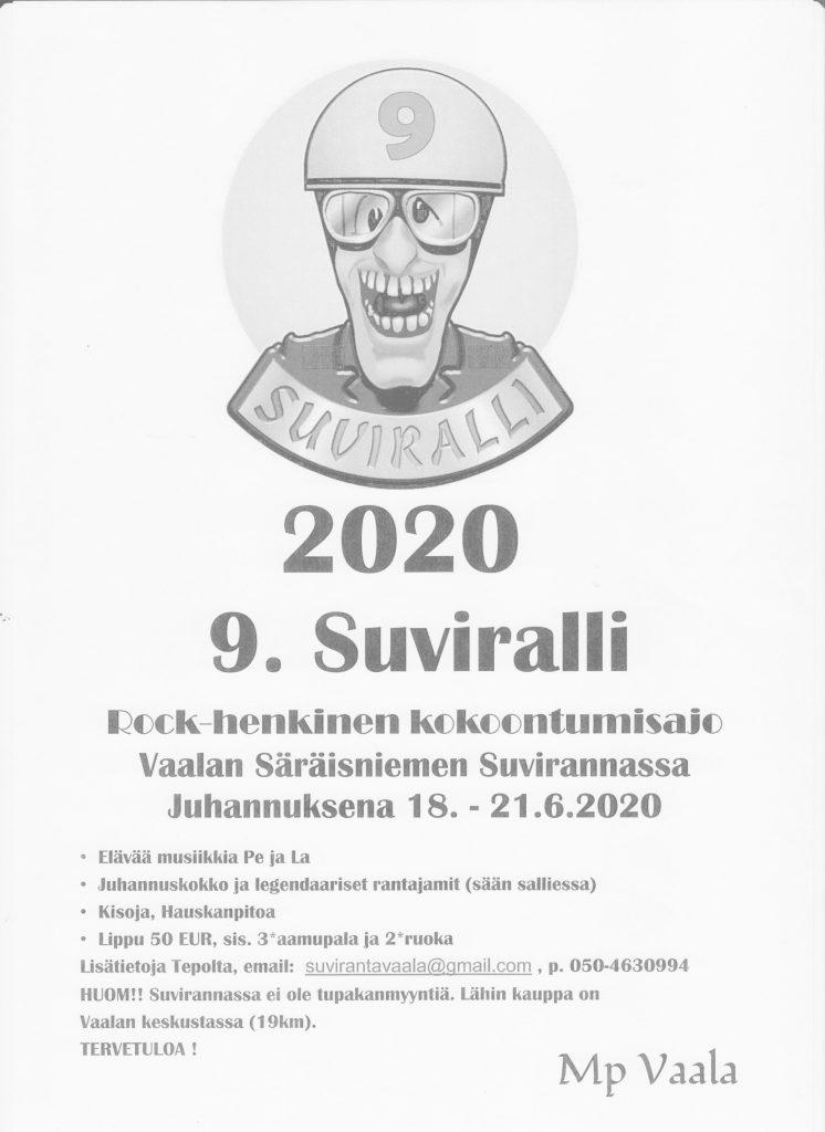Perinteinen Juhannus rallimme Suviralli :)